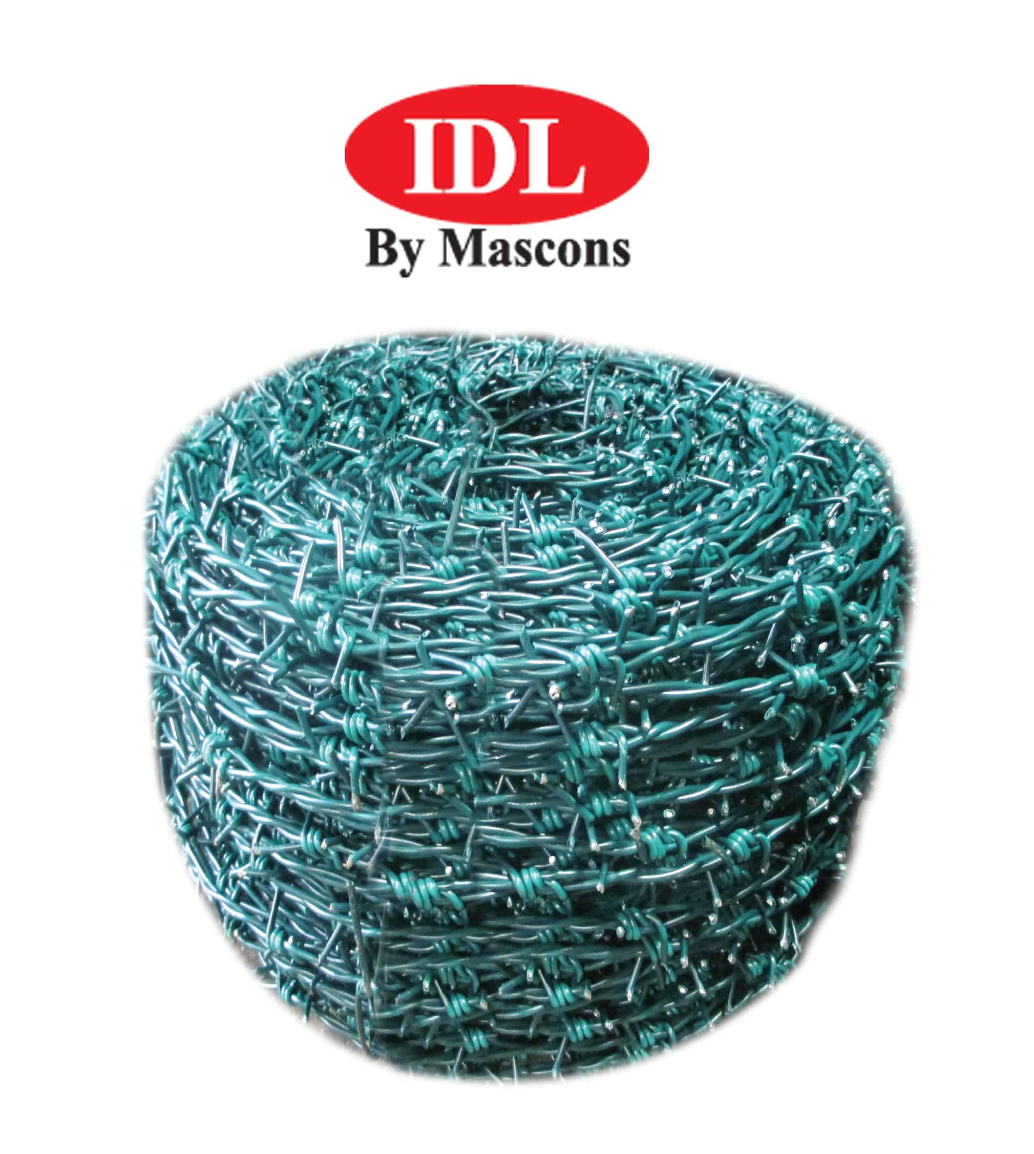 PVC Coated Barbed Wire in Sri Lanka