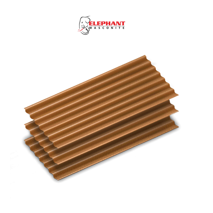 Elephant Masconite AC Autumn Clay Pot Colour Roofing Sheets