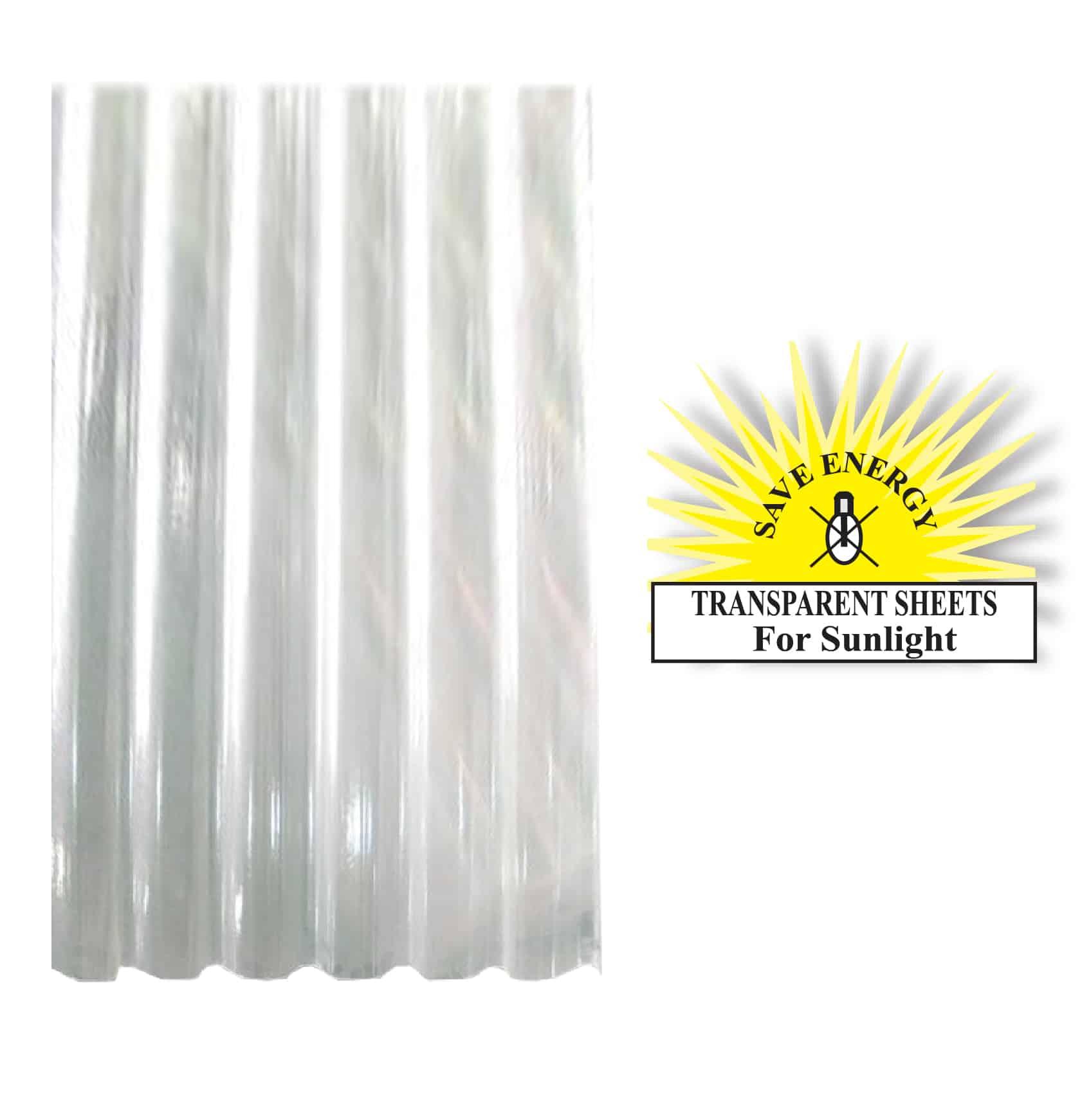 Fiber Glass Transparent Roofing Sheet in Sri Lanka