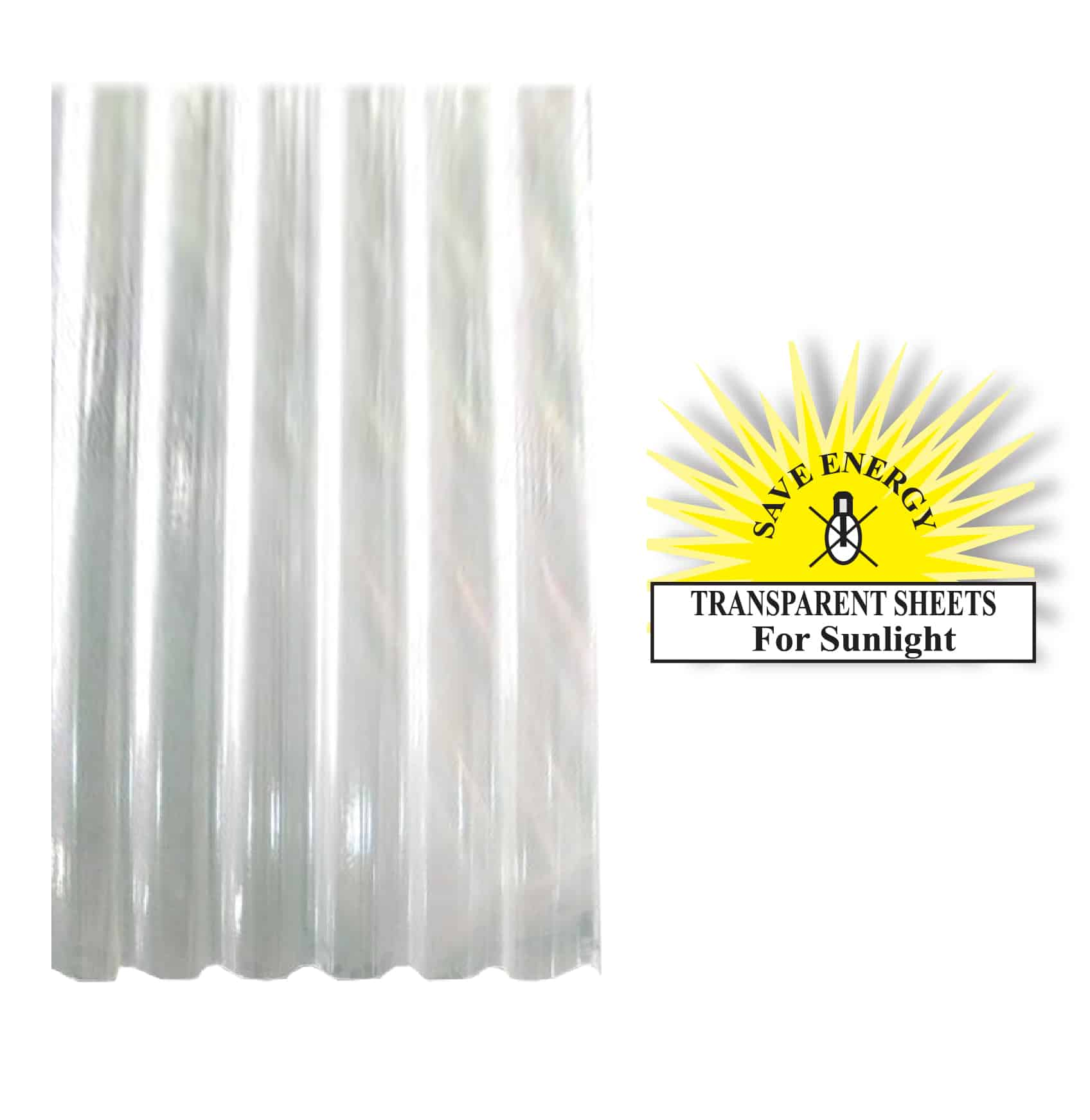 Fibre Glass Transparent Roofing Sheets Double MAT in Sri Lanka