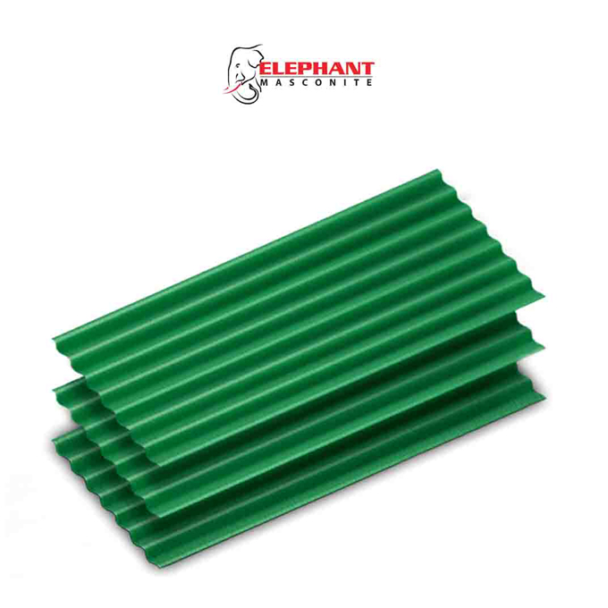 elephant masconite green color Roofing Sheets in Sri Lanka
