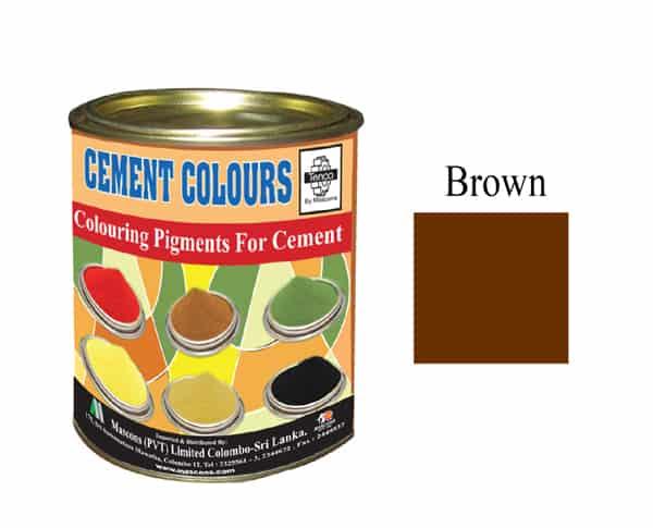 BROWN Colour Cement in Sri Lanka