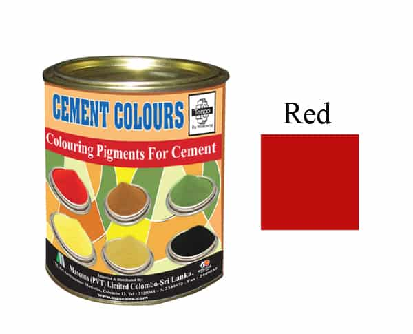 RED Colour Cement in Sri Lanka