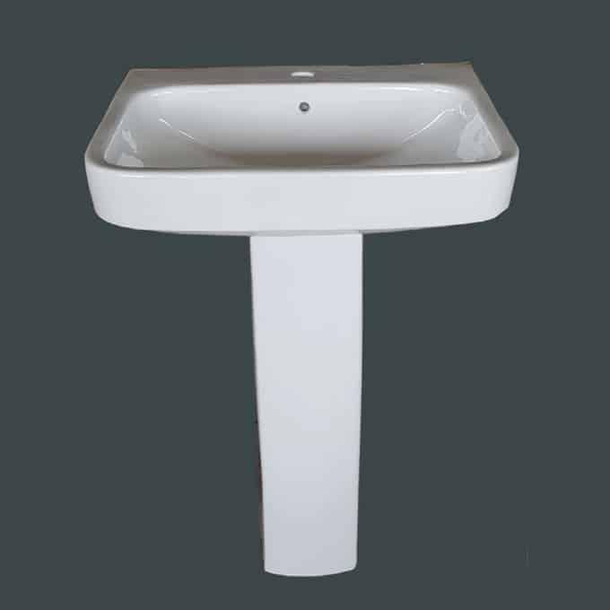 Neo wash basin & Pedestal in Sri Lanka