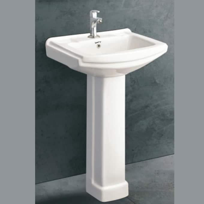 Sophia Wash Basin & Pedestal in Sri Lanka
