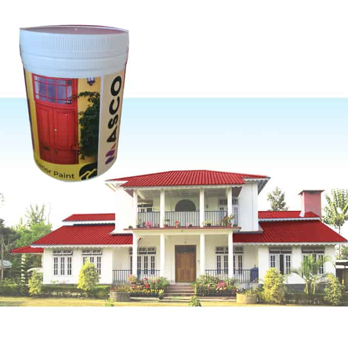 Autumn Red Roofing Paint in Sri Lanka